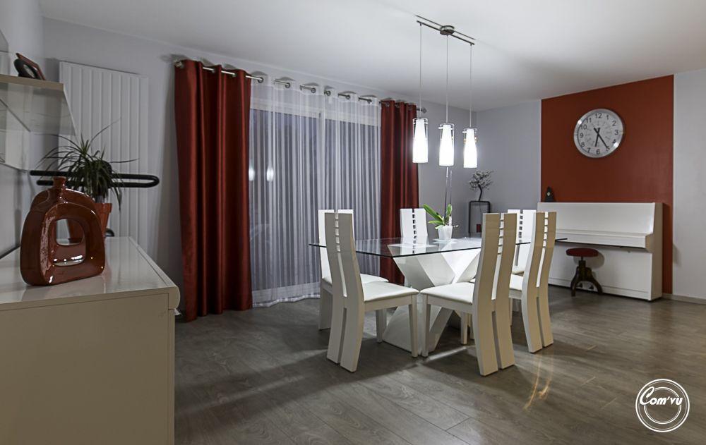 Travaux relooking s jour salon rennes peinture d coration - Decoration salon peinture ...