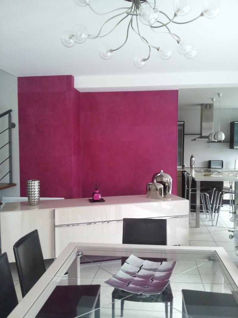 Peintre rennes pour particuler maison appartement relooker - Relooking salon salle a manger ...